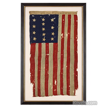 Revolutionary War American flag