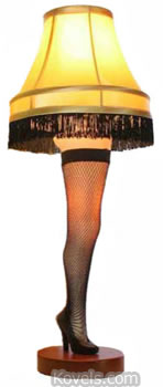 "Leg Lamp from ""A Christmas Story"""