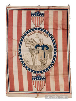 George Washington banner