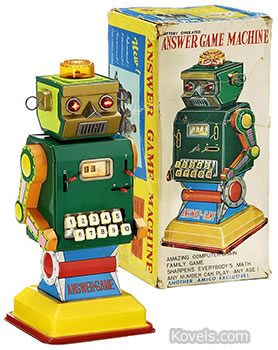 Answer Game Machine toy robot