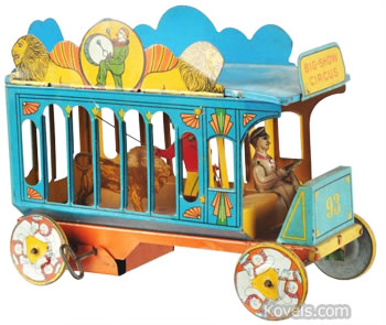 Toy circus truck