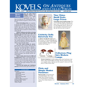 Kovels on Antiques and Collectibles January 2011