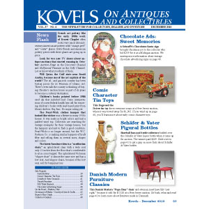 Kovels on Antiques and Collectibles December 2010