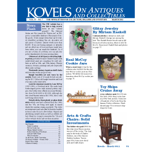 Kovels on Antiques and Collectibles Vol. 37 No. 7