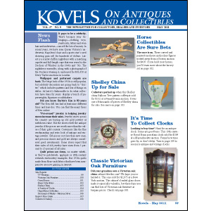 Kovels on Antiques & Collectibles Vol 37 No. 9