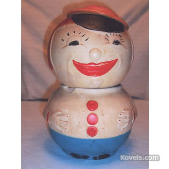 Cookie jar, American Bisque Co.