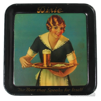 Dixie Brewing Co. serving tray