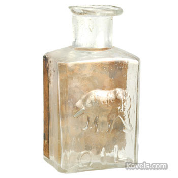 Bear's Oil bottle