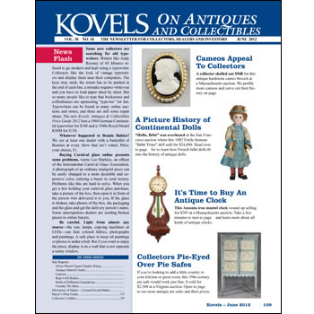 Kovels on Antiques and collectibles Vol. 38 No. 10