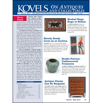Kovels on Antiques and Collectibles Vol. 38 No. 9