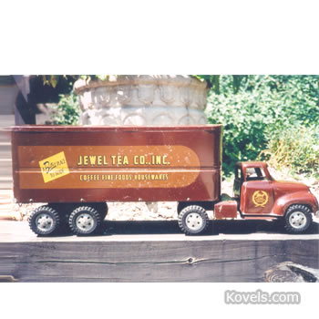 Jewel Tea toy truck