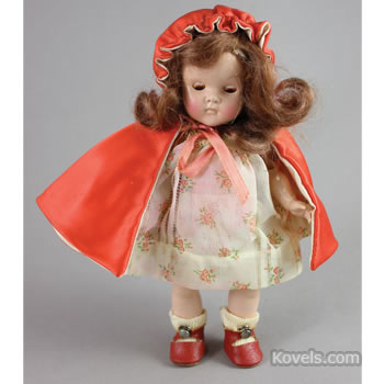 Vogue Ginny Red Riding Hood doll