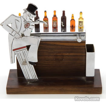 Bar-form cocktail-pick holder
