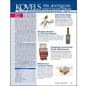 Kovels on Antiques and Collectibles Vol. 39 No. 8