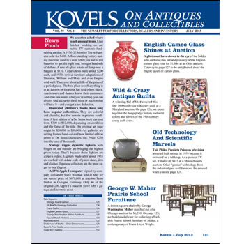 Kovels on Antiques and Collectibles Vol. 39 No. 11