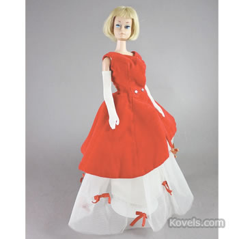 Blond American Girl Barbie doll