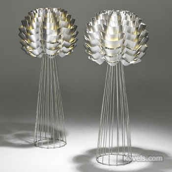 "Max Sauze ""Orion"" table lamps"