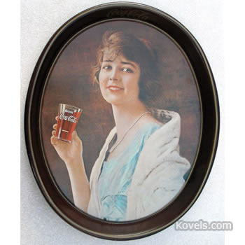 Repro Coca-Cola tip tray