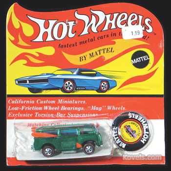 "Hot Wheels Redline ""Volkswagen Beach Bomb,"""