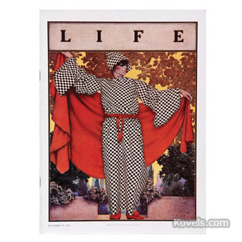 Maxfield Parrish Life magazine cover illustration
