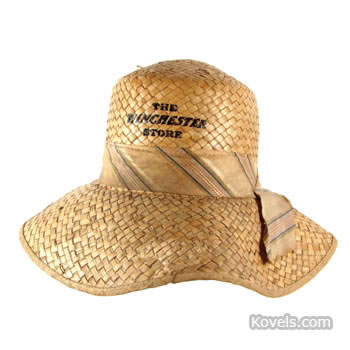 """The Winchester Store"" straw hat"