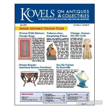 Kovels on Antiques and Collectibles Vol. 41 No. 9