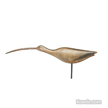 Curlew decoy