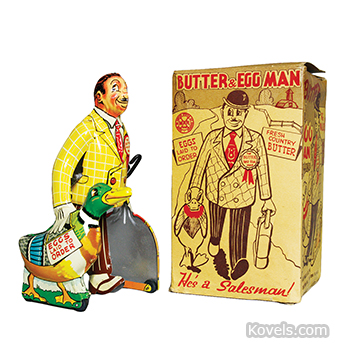 Butter and Egg Man Walker Toy