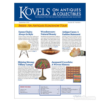 Kovels on Antiques and collectibles Vol. 42 No. 1