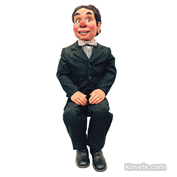 """Happy Hazard"" ventriloquist figure"