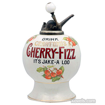 advertising, dispenser, cherry, fizz