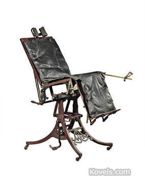 Medical examining chair
