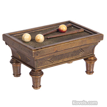 match, holder, billiards, table, brass, vocabulary
