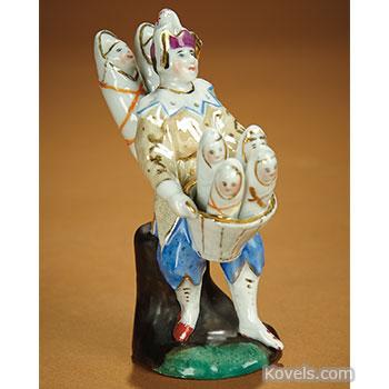 porcelain, figurine, kindlbringer, baby, bringer