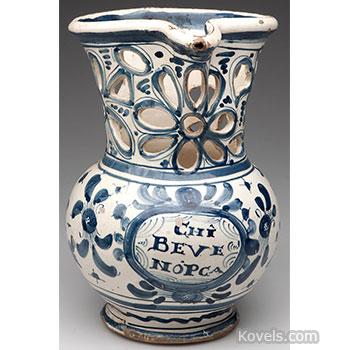 pottery, puzzle, jug, motto