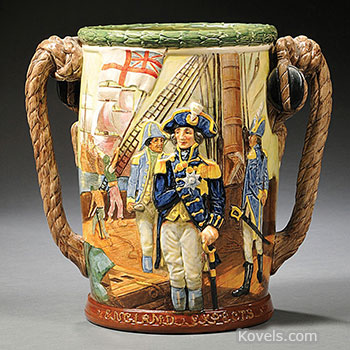 royal, doulton, cup, lord, nelson