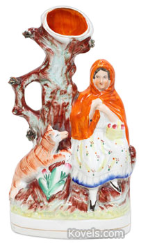Little Red Riding Hood spill vase