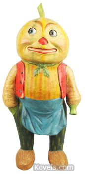 Halloween Vegetable Man