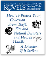 Dealing with Disaster: How To Protect Your Collection From Theft, Fire and Natural Disasters and How to Handle a Disaster If It Strikes