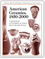 American Ceramics 1850-2000: A quick Guide to 210 Makers of Today's Most Collectible Pottery