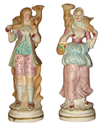 Occupied Japan Bisque Figurines