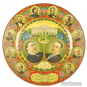Vienna Art Presidents Plate