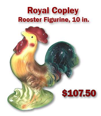 Royal Copley Rooster