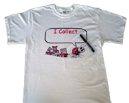 SMALL Kovels Collecting Bug T-Shirt